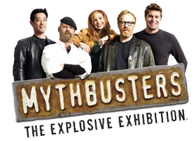 MythBusters Explosive Exhibit Group Photo